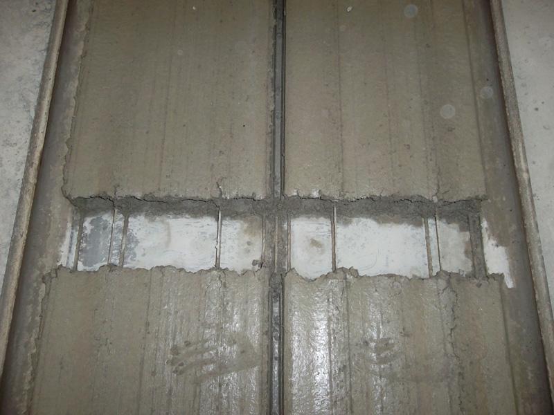 перегретый бетон