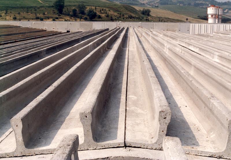 Inverted Double T Slabs Nordimpianti Concrete Experience